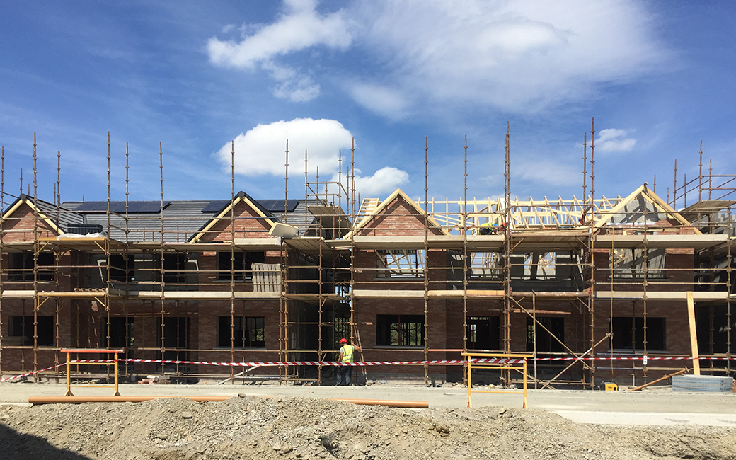 120 houses completed in Bettystown, Co. Meath for Urban Life developments.
